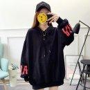여성 후드티 맨투맨 티셔츠 루즈핏 간절기 프린트AK37