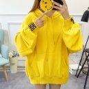 여성 후드티 맨투맨 티셔츠 루즈핏 간절기 프린트AK34