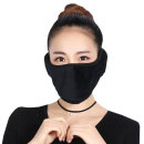 (무료배송) 일체형 극세사 귀마개 마스크/겨울 방한