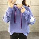 여성 후드 티셔츠 맨투맨 긴팔 베이직 루즈핏 AK06