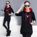 여성 후드티 맨투맨 티셔츠 슬림핏 간절기 프린트AK63