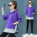 여성 후드티 맨투맨 티셔츠 루즈핏 레이어드 가을AK56