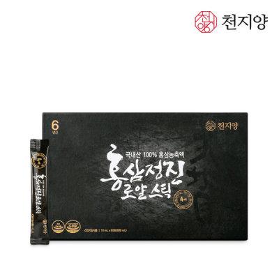 [천지양] 홍삼정진 로얄스틱 60포 1박스