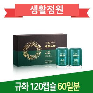 LG생활정원 규화 750mg 120캡슐 60일분/유통기한임박