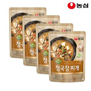 쿡탐 청국장찌개 500g 4개