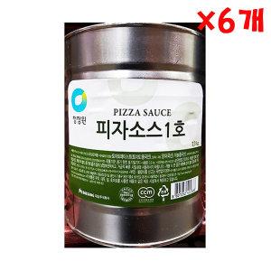 피자소스 1호 3.3kg X 6개 대용량 토마토 업소용 식당