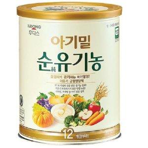 아기밀 순유기농 12개월부터 정품3캔/아기 이유식
