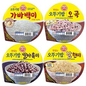 (오뚜기) 오뚜기밥 잡곡모음 210g x 12개 즉석밥 햇반