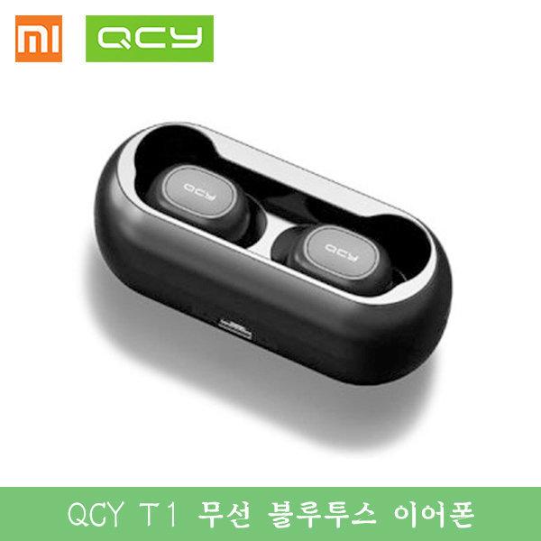 (빠른직구) QCY-T1 블루투스 이어폰5.0/ 블랙