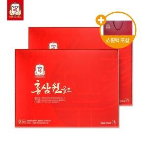 홍삼원 골드 50ml 20포 2박스/추석 명절 선물/홍삼선물