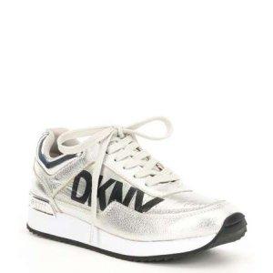 dkny/dkny marie logo platform sneakers/스니커즈/