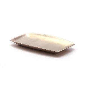 (kcj-54)생선 사각접시 /방짜유기/놋그릇/찬기