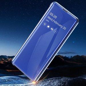 갤럭시 S10 5G S10E 노트10 노트9 플러스 글로우 컬러 클리어뷰 플립 커버 실리콘 범퍼 핸드폰 케이스(사찌