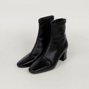 미셀르 shoes (4color) (앵클부츠/절개앵클부츠/통굽부츠/캐주얼슈즈)/ 업타운홀릭