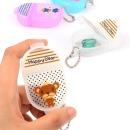 휴대용 2칸 투명 약통 구급약상자 구급함케이스 아기