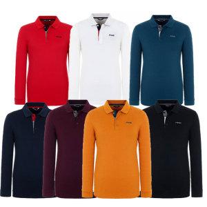 남성 솔리드 코튼 피케 티셔츠 (11283TO901)