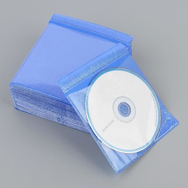 100p 부직포 CD 케이스 CD꽂이 CD보관 CD보관케이스