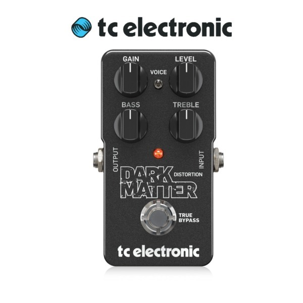 TC Electronic Dark Matter Distortion Guitar Pedal