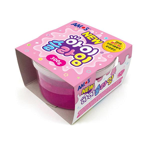 아모스 NEW 아이슬라임 300g(핑크) 액체괴물 슬라임