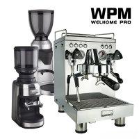 웰홈 WPM 반자동 커피머신 KD-310 세트구성 포함