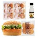 스파이시 치킨버거 만들기세트 10인분/햄버거재료