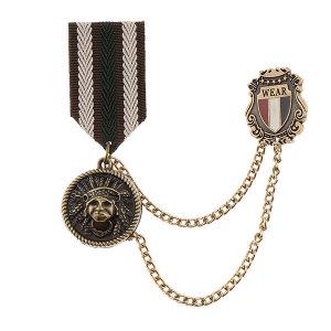 남여 복고풍 군사 메달 배지 해군 스타일  브로치 옷