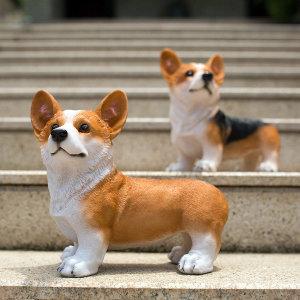 HX정원가든동물조각동상 인테리어장식품 강아지개인형