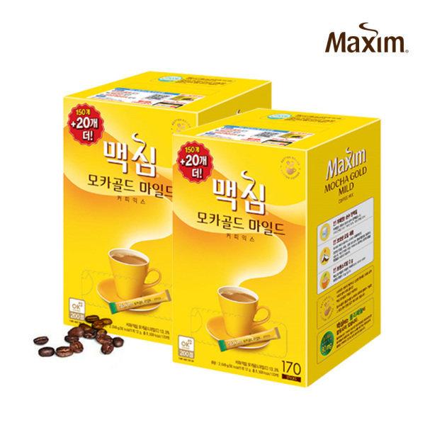 동서식품  맥심 모카골드 커피믹스 340T (170T+170T)