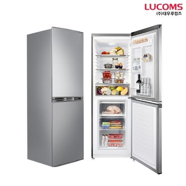 대우루컴즈 195L 일반냉장고 소형냉장고 R195K02-S