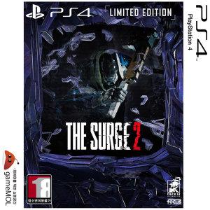 PS4 더 서지2 한글 리미티드 에디션 / 장비팩포함