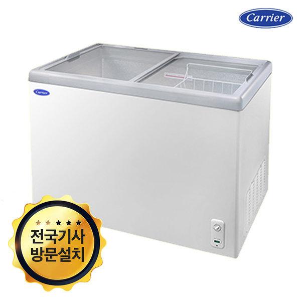 캐리어 아이스크림 냉동고 무료배송 273L CSDH-D300WA