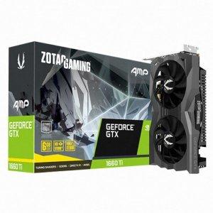 C ZOTAC GAMING AMP GTX 1660 Ti D6 6GB 백플레이트