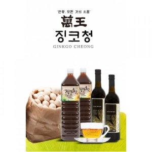 만왕 징코청 750ml (은행식초)
