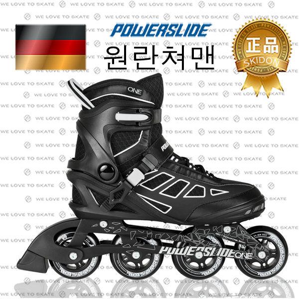 (최)파워슬라이드 원 란쳐 맨 휘트니스 주행용 인라인 스케이트 독일정품 편한착용감 소프트