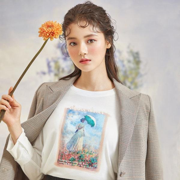 로엠x모네  FG 티셔츠 (3colors)_RMLW949M12