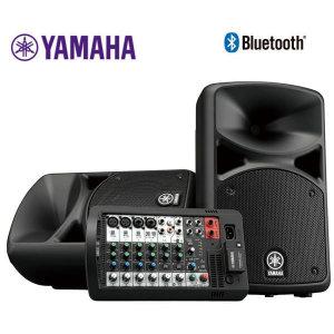 야마하정품 STAGEPAS 600BT 믹서 스피커 블루투스