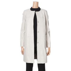 럭셔리한 기본 양가죽 코트(B9D1FQ31)
