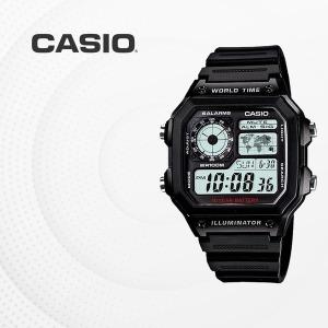 CASIO AE-1200WH-1A 디지털시계 우레탄밴드 AE1200WH1A