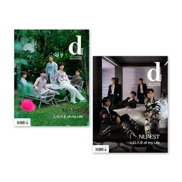 카드+포토타월(버전선택) 방콕/홍콩 D-icon 디아이콘 vol.6 뉴이스트 NU'EST L.O.ㅅ.E of my Life