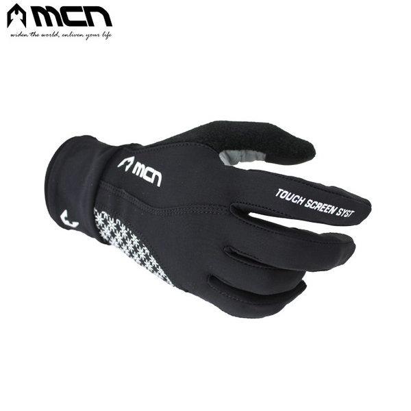 MCN 엘사 남성 자전거 긴장갑 블랙 자전거터치장갑