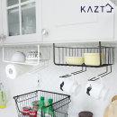 더블키친타올걸이렉주방선반 다용도 수납 주방용품
