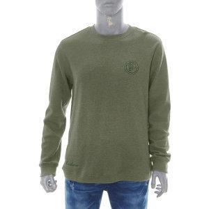 남성 와플 기본 R넥 티셔츠(B185Z1050P)