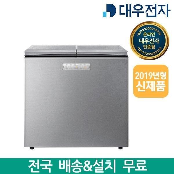 대우전자 클라쎄 216L 뚜껑형 김치냉장고 FR-N23SXESK