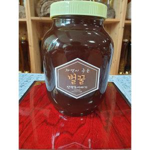 지리산 100%숙성밤꿀 한의원 납품 밤꿀2.4kg