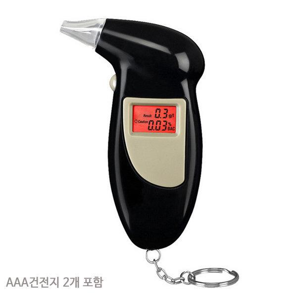휴대용음주측정기 알코올측정기 음주측정기 건전지2개