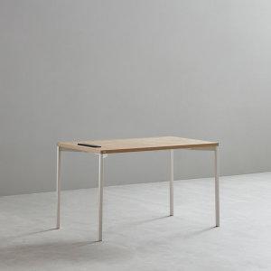 데스커  1인 노트북 책상 (빌트인 콘센트) 1000X600