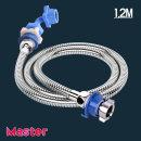 세탁기연결 급수호스 스텐레스세탁기호스1.2M(냉수)