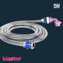 세탁기 장거리 연결 호스 스텐레스세탁기호스5M(온수)