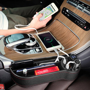OMT 차량용 틈새 수납함 겸용 고속 충전기 OC-GAP