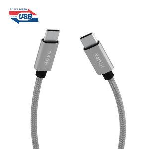 웨이크 C타입 고속 충전 PD 케이블 USB 3.1 Gen1-50cm